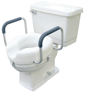 Toilet Seat With Handles Durham Medical
